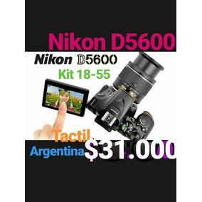 Nikon D5600 Kit 18-55 Camara Reflex Profesional