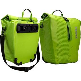 Par Alforjes Thule Pack Pedal Shield 48l Verde Frete Gratis