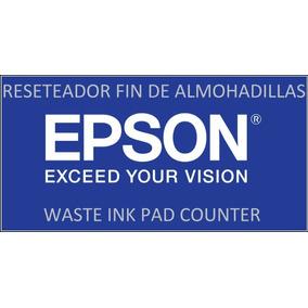 Reset Epson T22 Tx120 Tx 121 Tx130 Me320 Fin De Almohadillas