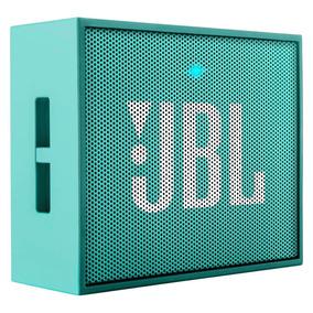 Parlante Portatil Jbl Go Bluetooth Teal + Garantia 1 Año