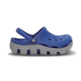 Crocs Originales Duet Sport Clog Kids Azul Niños 43x