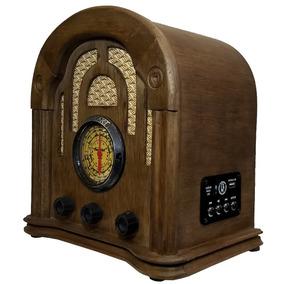 Rádio Antigo Imperador Usb - Artesanal - Vintage - Retrô