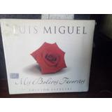 Luis Miguel Mis Boleros Favoritos Cd+dvd (nuevo Y Sellado)