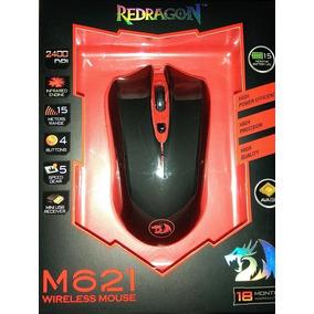 Mouse Gamer Inalámbrico Reddragon M621