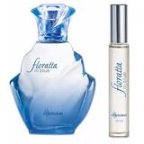 Kit Floratta In Blue Perfume 100ml E Miniatura 10ml
