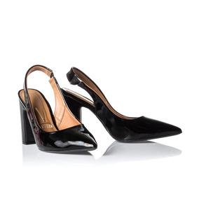 b59e595ed6 Scarpin Vizzano Estampado Calcados Roupas Bolsas - Sapatos no ...