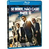 Blu-ray Se Beber Não Case 3 Bradley Cooper Original Lacrado
