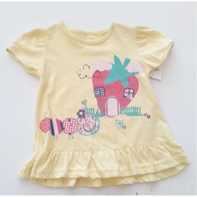 Blusa Infantil Estampada Amarela George Baby