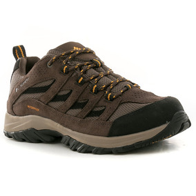 Zapatillas Crestwood Ox Marron/amarillo Columbia Sportwear