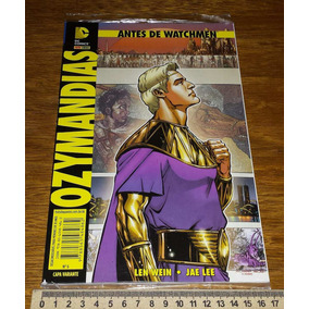 Antes De Watchmen - Ozymandias - Graphic Novel - Novo