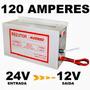 Convesor 24v Para 12v - Caminhão Onibus 120a Novo (13,8v)