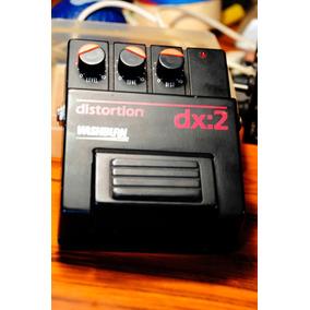 Pedal De Guitarra Wahsburn Distortion Dx:2