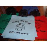 Bolsas De Fiselina De 80 Medidas 35x40 Estampada!!!