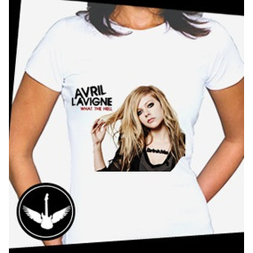 Camiseta Avril Lavigne Ou Baby Look Blusa Regata Banda Rock