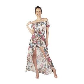 Vestidos largos de flores mercadolibre