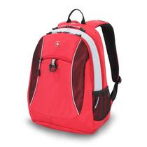 Mochila Backpack Laptop Swissgear 15 Swiss Gear Maleta Roja