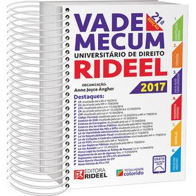 Vade Mecum Universitário Direito Rideel 1º Sem 2017 + Brinde
