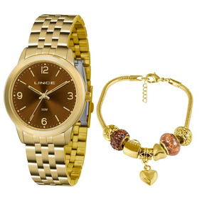 ee5ed4aeebd Relogio Troca Pulseiras Lince Kit - Joias e Relógios no Mercado ...