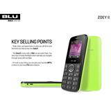 Teléfono Blu Doble Sim Zoey Ii - Camara Flash - Liberado