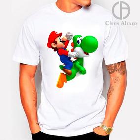 Padrisimas Playeras Mario Bros Oferta Compra 2 Y Una Gratis