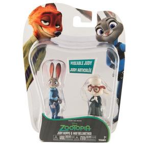 Zootopia Pack Figuras X2 Judy & Bellwether Original Disney