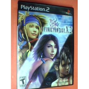 Final Fantasy X-2 - Ps2 - Original - Completo C/ Caja Manual