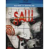 Saw Juego Del Miedo Boxset Coleccion 7 Peliculas Blu-ray