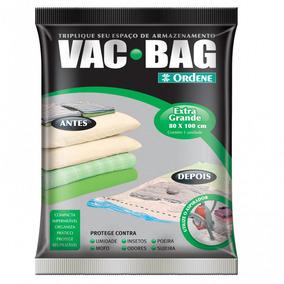 Embalagem Vac Bag Extra Grande 80x100cm - Ordene