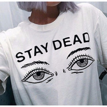 Camisa Camiseta Drop Dead Stay Dead Bmth Oliver Sykes Stean