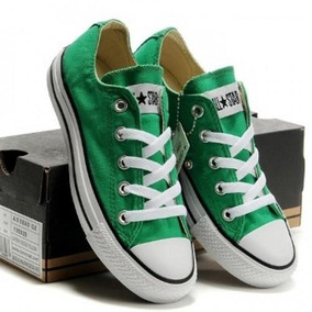 converse verde niño