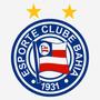Adesivo Escudo Bahia Esporte Futebol 18cm A370