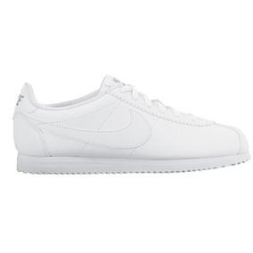 Tenis Nike Cortez Couro Sintetic Branco Promoção Original