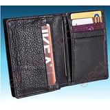 Billetera Cartera De Cuero Para Tarjetas De Crédito-personal