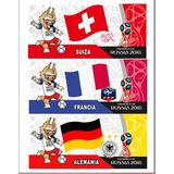 Plantillas Sublimacion Taza Mug Mundial De Futbol Rusia 2018