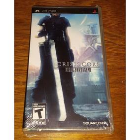 Final Fantasy Vii Crisis Core Psp Playstation Lacrado Black