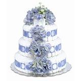Bloomers Del Pañal Del Bebé De La Torta Clásica Azul Del Hy