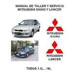 Manual De Taller Mitsubishi Signo Y Lancer Todas Sus Partes