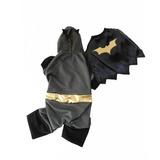 Generico Disfraz Batman Para Perro L