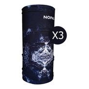 Cuello Termico Nopal® Multiuso Pack X3 Montaña Frio