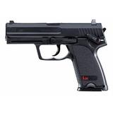 Pistola De Pressão Airgun Hk Usp Co2 Fullmetal 4.5mm