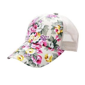Gorras Floreadas Mujer Para Pelo Y Cabeza Color Blanco - Accesorios ... 383c07333a9