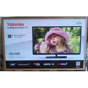 Televisor Led 32 Pulgadas Toshiba Con Base