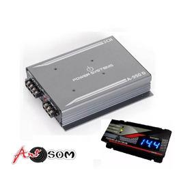 Kit Módulo Amplificador A950 + Voltímetro Power Systems