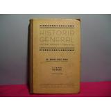 Libro Antiguo De Secundaria Historia General / Perez Duran