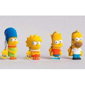 Pen Drive Os Simpsons Personalizado Garrafa Times Darth