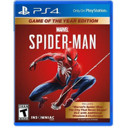 Spider Man Game Of The Year Edit. Ps4-fisico/ Mipowerdestiny