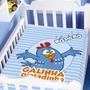 Cobertor Galinha Pintadinha Cantora Azul Raschel - Jolitex