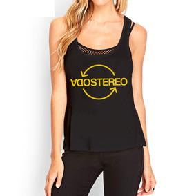 Musculosas Estampadas Personalizadas Soda Stereo Mujer