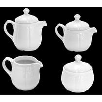 Conjunto De Café E Chá Porcelana Limoges Detalhes Graciosos