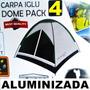Carpa Iglu Montaña 4 6 10 Aluminizada Proteje Agua Sol Frio